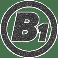 Logo B-Eins Werbetechnik Hamburg-Bergedorf